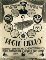 France Valenciennes WWII Photographe Photo Circus Politique Ancienne Photo 1940 - War, Military