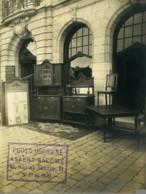 Belgique Ypres Publicité Asaert Salomé Photographe Hotel Excelsior Ancienne Photo 1920 - Places