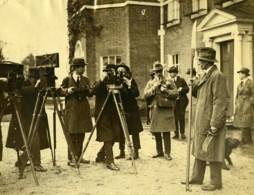 Royaume Uni Groupe De Cinéastes Photographes & Comte De Strathmore Ancienne Photo 1923 - Professions