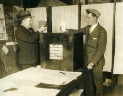 Chicago Election John Weldman Photographié Par Thomas Tracy Ancienne Photo 1928 - Professions