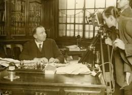 Royaume Uni Londres Cineaste Widgey P Newman & JH Thomas Ancienne Photo 1926 - Professions