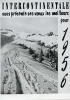 France Publicité Pour Agence De Presse Intercontinentale Photographe Ancienne Photo 1956 - Photographs
