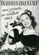 France Publicité Pour Agence Photo Intercontinentale Photographe Ancienne Photo 1950's - Photographs