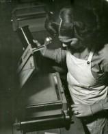 USA WWII Private Jane Faulkner Laboratoire De Photographie Aérienne? Ancienne Photo 1944 - War, Military