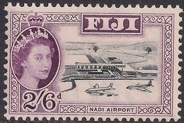 Fiji 1959 - 63 QE2 2/-6d Black & Purple MM SG 307 ( J1227 ) - Fiji (...-1970)