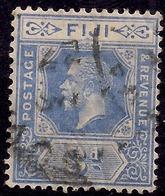 Fiji 1922 - 29 KGV 3d Bright Blue SG 234 ( J1251 ) - Fiji (...-1970)