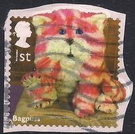 GB 2014 QE2 1st Class Childrens TV Bagpuss Used On Paper SG 3558 ( L1097 ) - 1952-.... (Elizabeth II)