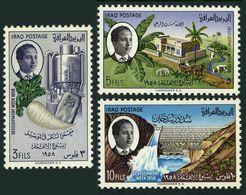 Iraq 185-187,MNH.Michel 217-219. Development Week,1958.Sugar Beet,Farm,Khan Dam. - Iraq
