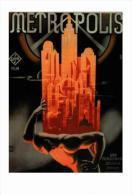 Affiche Du Film - Metropolis (1927) - Fritz Lang  - POSTCARD RP (3)- Size: 15x10 Cm. Aprox. - Afiches En Tarjetas
