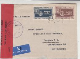 Israel / Airmail / Censorship - Israel