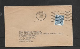 Ireland Cover, 3d, TRAIGHLT 27 MAY 1955 > S.Africa - 1949-... Republic Of Ireland
