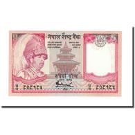 Billet, Népal, 5 Rupees, KM:46, NEUF - Népal
