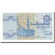 Billet, Égypte, 25 Piastres, 2004-09-12, KM:57f, NEUF - Egipto