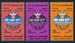 Iraq 358-360,MNH.Michel 394-396. Arab Postal Union,1964.Emblem - Bird. - Iraq