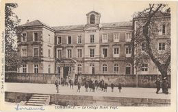 Commercy (Meuse) - Le Collège Henri Vogt - Edition C. Dor Et A. Thomas - Carte Non Circulée - School