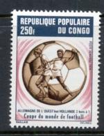 Congo 1974 World Cup Soccer Munich Germany HollandMUH - Democratic Republic Of Congo (1997 - ...)