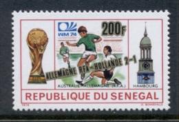 Senegal 1974 World Cup Soccer Munich Opt Germany Hollande MUH - Senegal (1960-...)