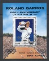 South East Asia 1988 Roland Garros Tennis MS CTO - Korea, North