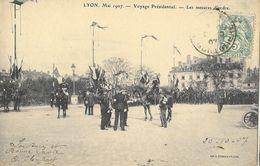 Lyon Mai 1907: Voyage Présidentiel D' Armand Fallières - Les Mesures D'ordre - Réceptions