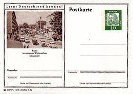 """BRD Bildpostkarte""""Lernt Deutschland Kennen!""""10(Pf) Albrecht Dürer, Grün P72 215070 7/48 """"Kassel"""", Ungebraucht - [7] Federal Republic"""