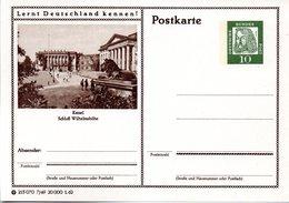 """BRD Bildpostkarte""""Lernt Deutschland Kennen!""""10(Pf) Albrecht Dürer, Grün P72 215070 7/49 """"Kassel"""", Ungebraucht - [7] Federal Republic"""
