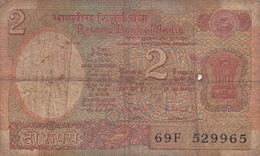 Inde - Billet De 2 Rupees - 1976 - Inde