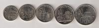 Serbia 2003. Coin Set UNC 1 - 2 - 5 - 10 - 20 Dinara - Serbia