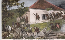 AK - Tirol - Schlacht Am Berg Isel - Buchhütte - J. Thalguter Mit D. Meranern - 1932 - Österreich