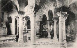CPA   43   LE PUY---INTERIEUR DE LA CHAPELLE ST-MICHEL - Le Puy En Velay