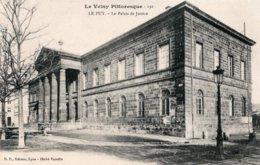 CPA   43  LE PUY---LE PALAIS DE JUSTICE - Le Puy En Velay