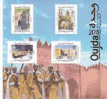 Morocco New Issue 2018,Oujda Arab Cultural Capital Souvenir SH. MNH- Music,Costume,Archeol Scarce.SKRILL PAY ONLY - Maroc (1956-...)