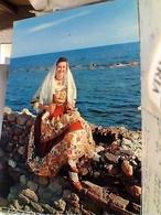 COSTUMI SARDI QUARTU S ELENA   RAGAZZA IN COSTUME  VB1975 GW5300 - Quartu Sant'Elena
