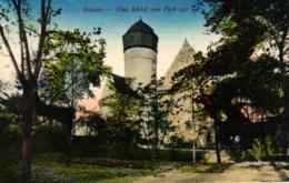 Giessen, Altes Schloß Vom Park Aus Gesehen, 1911 - Giessen