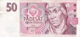 République Tchèque - Billet De 50 Korun - 1997 - Sv. Anezka Ceska - Tchéquie