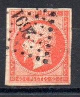 France Frankreich Y&T 16a° - 1853-1860 Napoléon III.