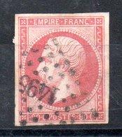 France Frankreich Y&T 17B° - 1853-1860 Napoléon III.