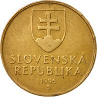 Monnaie, Slovaquie, Koruna, 1995, TTB, Bronze Plated Steel, KM:12 - Slovaquie