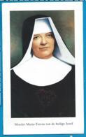 Relic    Reliquia    Moeder Maria - Teresa Van De Heilige Josef    Sittard - Images Religieuses