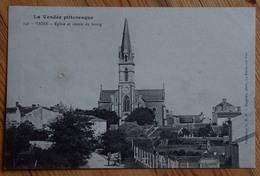 85 : Vairé - Eglise Et Centre Du Bourg - Petite Détérioration De Surface + Petites Détériorations Au Dos. - (n°13484) - Francia