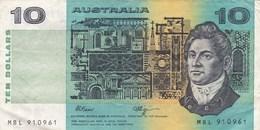 Australie - Billet De 10 Dollars - Greenway & Lawson - Emissions Gouvernementales Décimales 1966-...