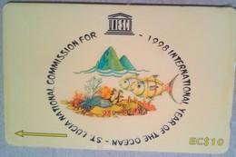 233CSLB Year Of The Ocean EC$10 - Saint Lucia