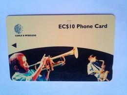 237CSLA   Jazz Fest 1998  EC$10 - Sainte Lucie
