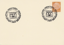 München-Hauptstadt Der Bewegung - Sonderstempel 1938 - Deutschland