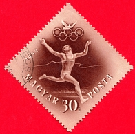 UNGHERIA - MAGYAR - Usato - 1952 - Giochi Olimpici Di Helsinki - Corsa - Running  - 30 - Posta Aerea