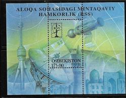 OUZBEKISTAN 2001 COMMUNICATIONS  YVERT N°B24 NEUF MNH** - Ouzbékistan