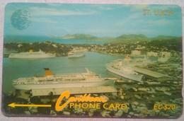 16CSLB Cruise Ships EC$20 - St. Lucia