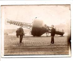SAINT-MALO - Préparation D'un Sémaphore à L'Immersion (vers 1900) - Saint Malo