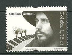 POLAND MNH ** 3898 Czeslaw Niemen Musique Musicien Chanteur - 1944-.... Republik