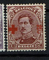 155  **  100 - 1918 Croix-Rouge