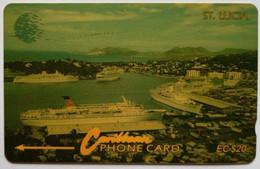 12CSLB Cruise Ships EC$20 - St. Lucia